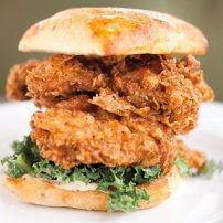 Large Crispy Chicken sandwich