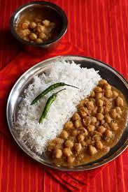 Chana masala & basmati
